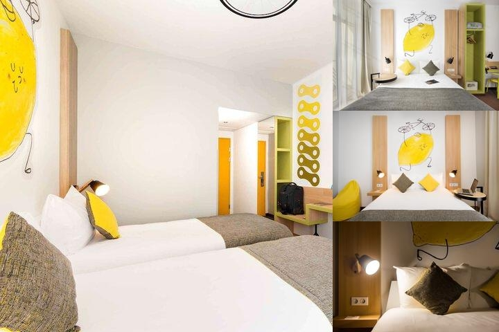 Ibis Styles Budapest City photo collage