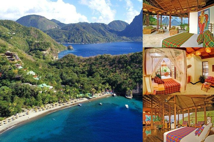 Anse Chastanet Resort photo collage