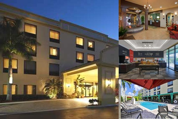 Hampton Inn West Palm Beach Florida Turnpike photo collage