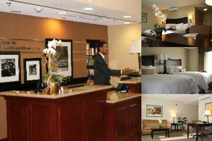 Hampton Inn & Suites Oakland Airport Alameda photo collage