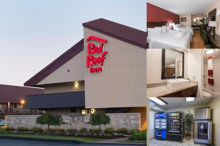 Red Roof Inn photo collage
