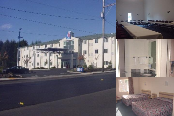 Motel 6 4172 Lincoln City Oregon photo collage