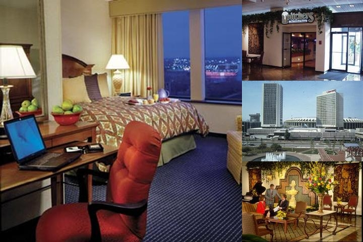 St. Louis Marriott Downtown Hotel photo collage