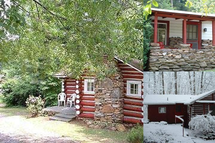 The Pines Cottages photo collage
