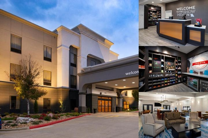 Hampton Inn Kansas City / Near Worlds of Fun photo collage