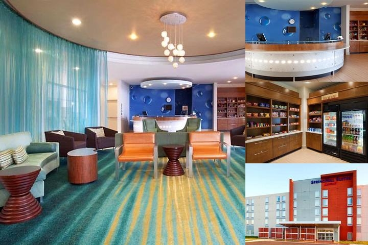 Springhill Suites Salt Lake City Airport photo collage