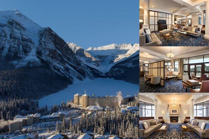 The Fairmont Chateau Lake Louise photo collage