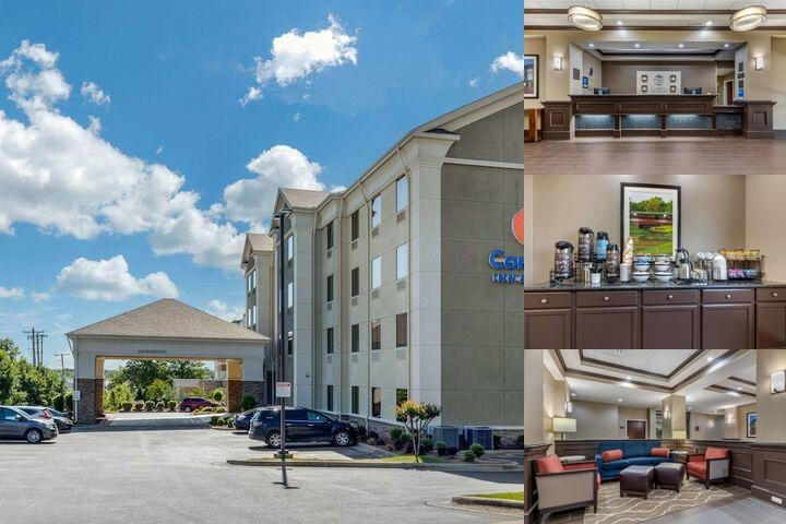Comfort Inn & Suites Mccain photo collage