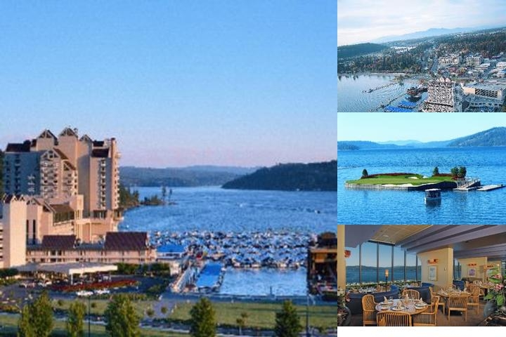 The Coeur D'alene Resort photo collage