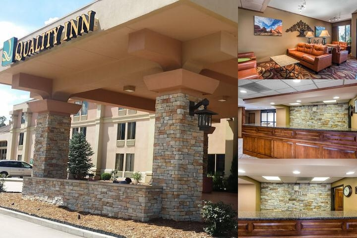 Quality Inn South photo collage