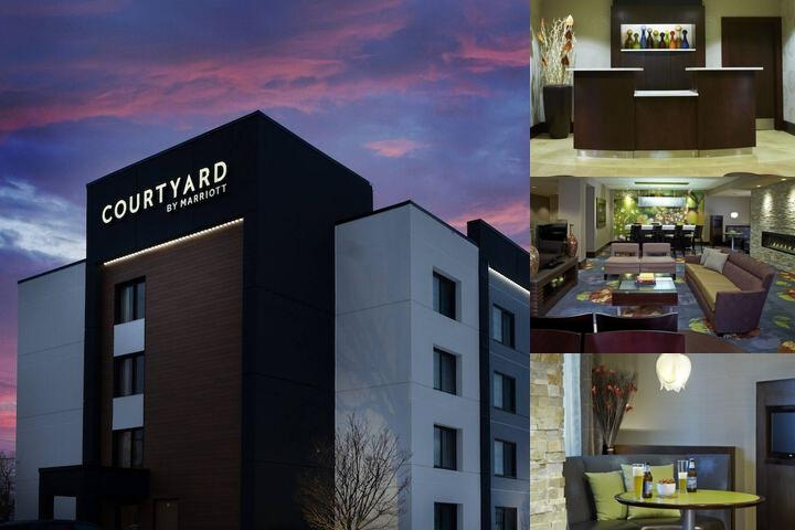 Buffalo / Amherst Courtyard by Marriott photo collage