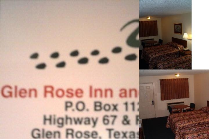 Glen Rose Inn photo collage