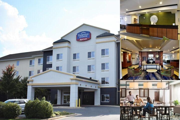 Fairfield Inn & Suites Strasburg Shenandoah Valley photo collage