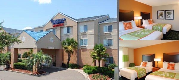 Fairfield Inn & Suites Hattiesburg photo collage
