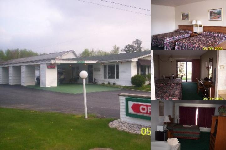 Starlite Budget Inn photo collage