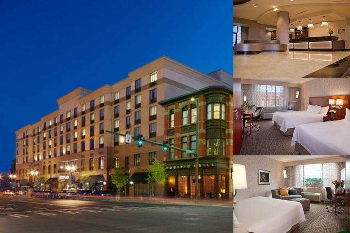 Courtyard Marriott Tacoma Downtown photo collage