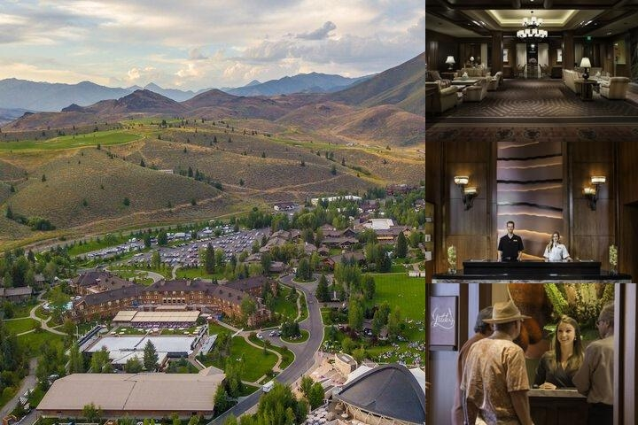 Sun Valley Lodge photo collage