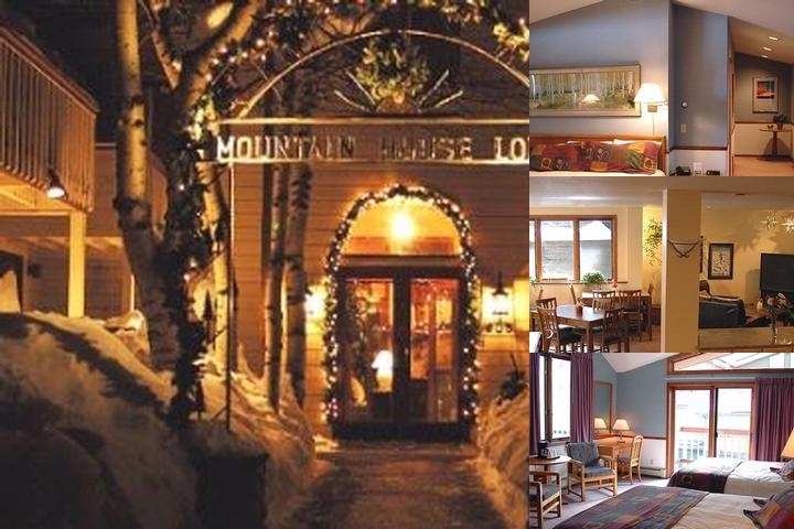 Mountain House Lodge photo collage
