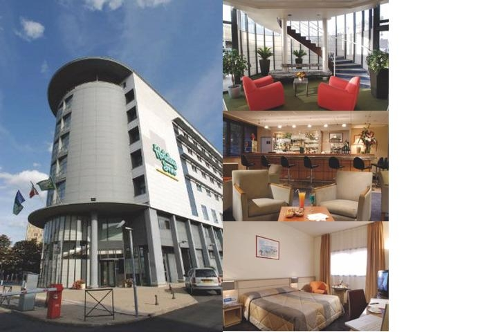 Novotel Tours Centre Gare photo collage