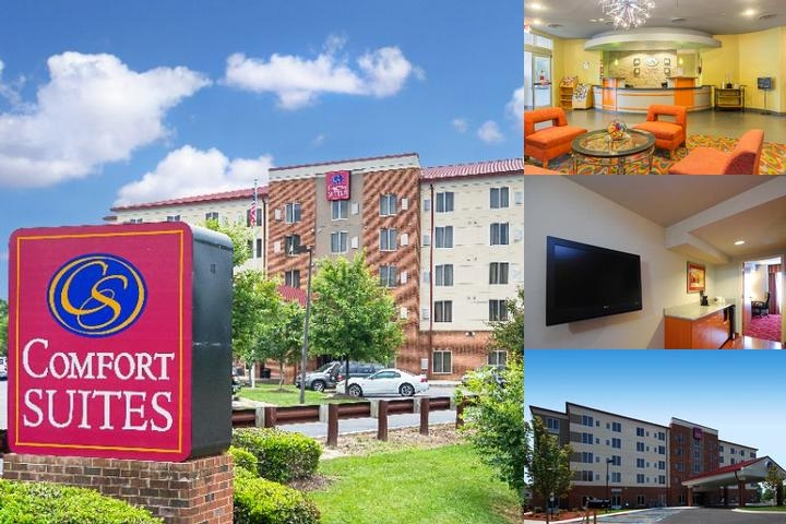 Comfort Suites Virginia Center Commons photo collage