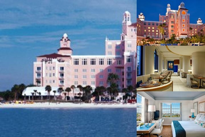 The Don Cesar a Loews Hotel photo collage