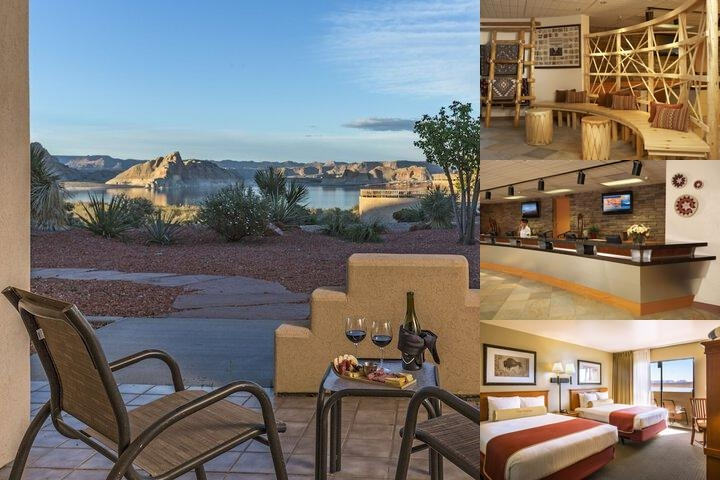 Lake Powell Resort photo collage