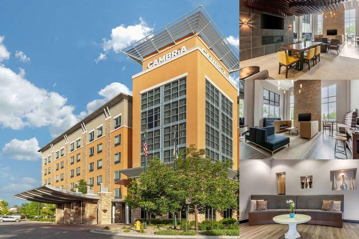 Cambria Suites Denver Airport photo collage