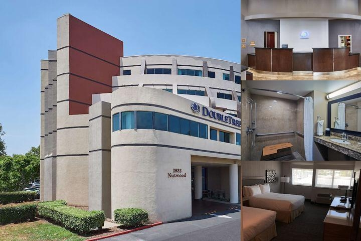 DoubleTree by Hilton Fullerton photo collage
