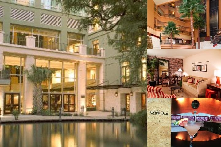 Hotel Contessa Riverwalk Luxury Suites photo collage