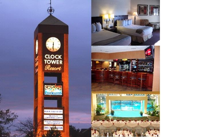 Clock Tower Resort photo collage