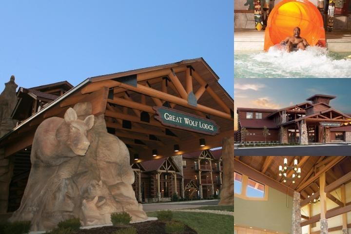 Great Wolf Lodge Cincinnati / Mason photo collage