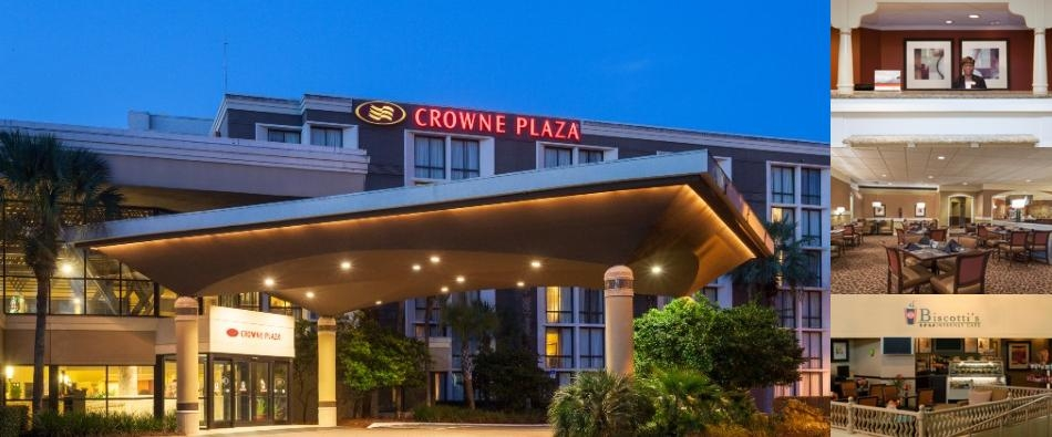 Crowne Plaza Jacksonville Airport photo collage