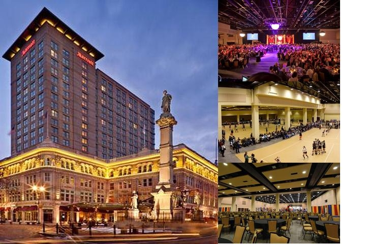 Marriott Lancaster Penn Square photo collage