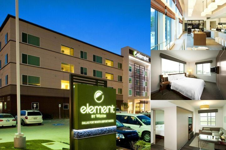 Element Dallas Fort Worth Airport North photo collage