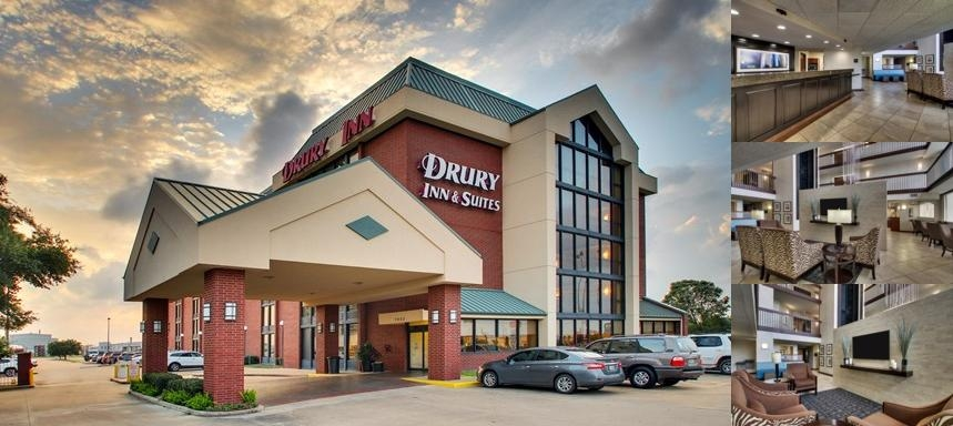 Drury Inn & Suites Houston Hobby Airport photo collage