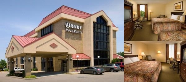 Drury Hotel photo collage