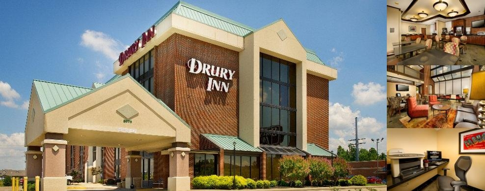 Drury Inn Paducah photo collage