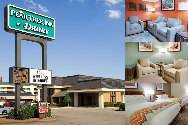 Pear Tree Inn Paducah photo collage
