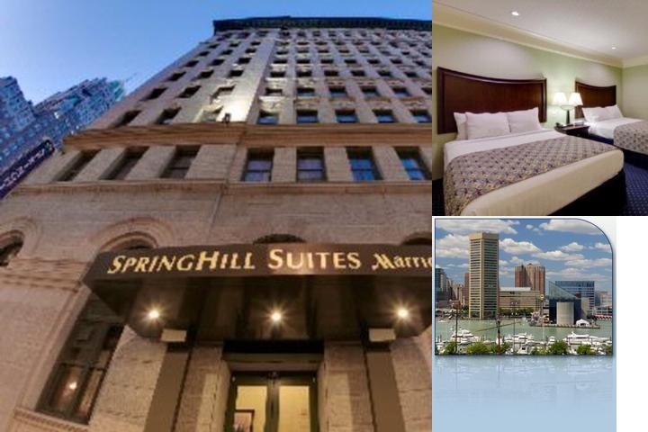 Springhill Suites Baltimore Inner Harbor photo collage