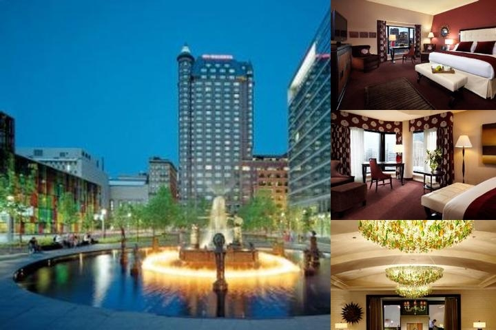Intercontinental Montreal photo collage