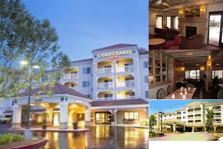 Courtyard by Marriott Novato Marin / Sonoma photo collage