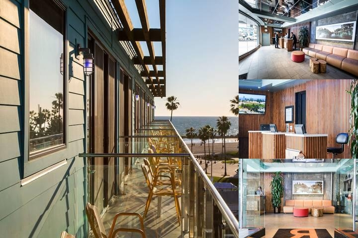 Hotel Erwin Venice Beach photo collage
