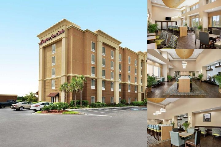 The Hampton Inn & Suites photo collage