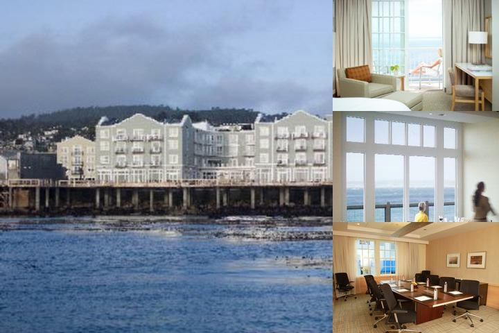 Intercontinental The Clement Monterey photo collage