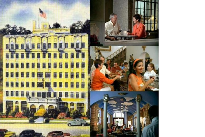 Park Hotel of Hot Springs photo collage