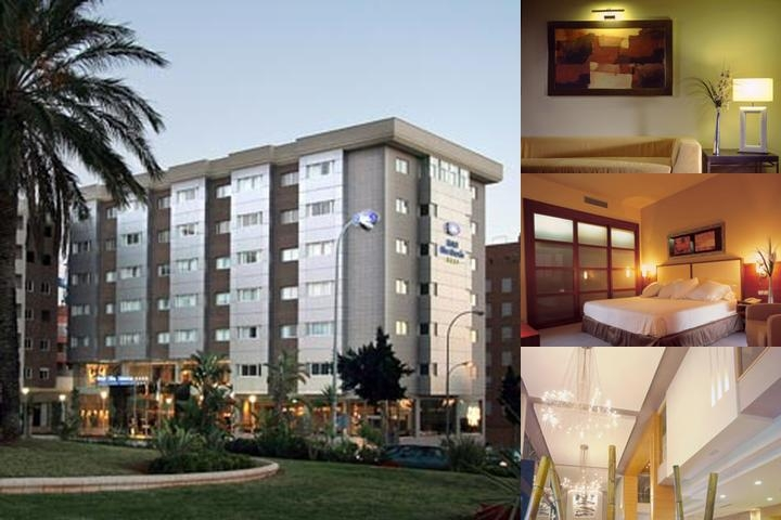 Elba Almería Business & Convention Hotel photo collage