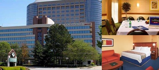 Cumberland Center Courtyard by Marriott photo collage