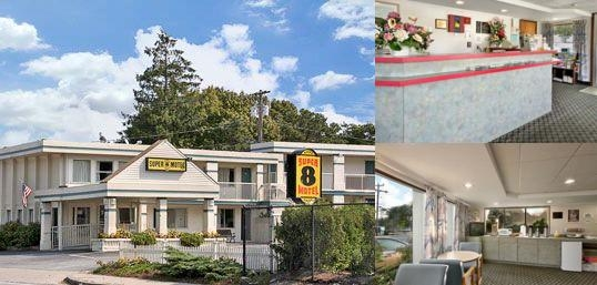 Super 8 W Yarmouth Hyannis / Cape Cod photo collage