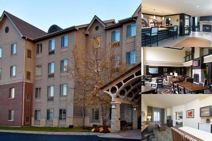 Staybridge Suites Oakbrook photo collage