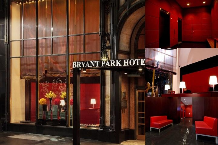 The Bryant Park Hotel photo collage